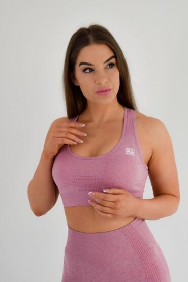 Sports Bra Pink | Plus Size Fabletics Bra Top | Slaywearlondon