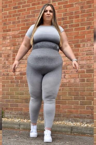 Leggings Icing | Top Icing Seamless Leggings | Slay Wear London